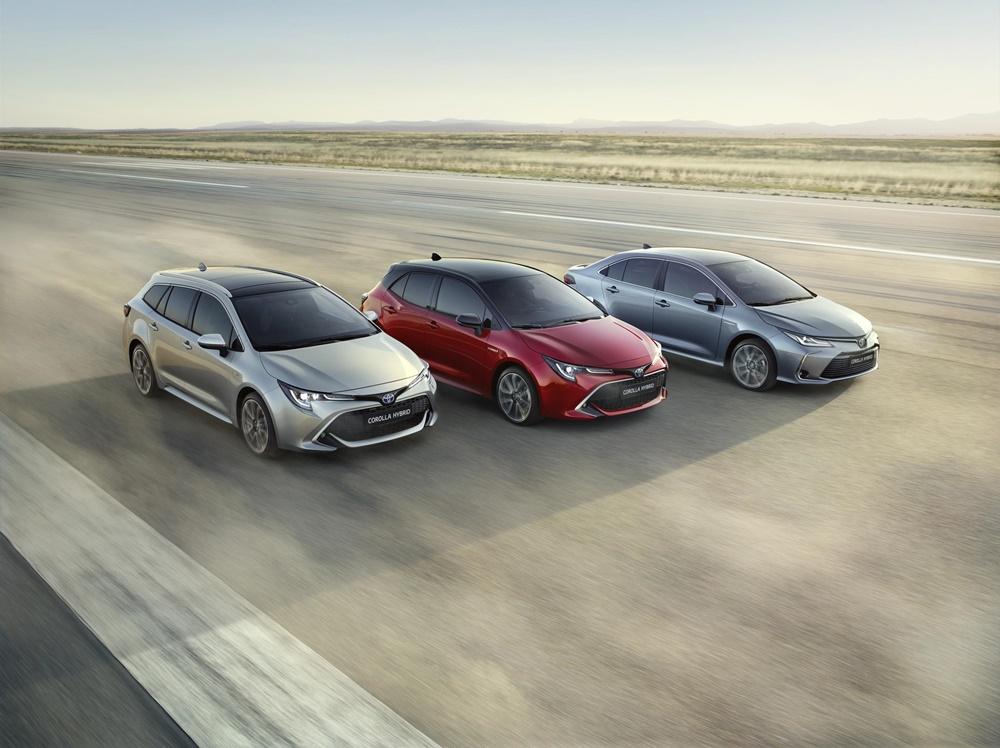 El Toyota Corolla Sedan se suma a los Toyota Corolla Hybrid
